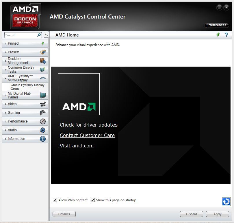 Amd Eyefinity Driver Download