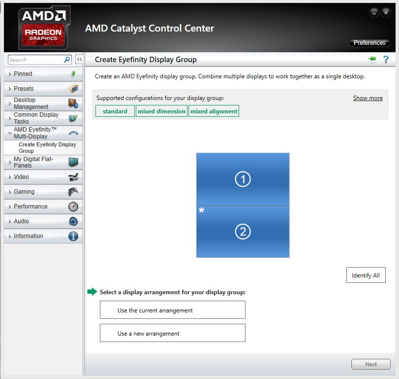 How to Setup AMD Eyefinity on multiple projectors   ImmersaView